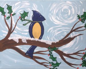 Family Adventures in Art: Bird on a Branch