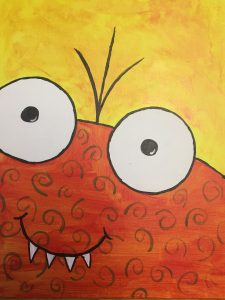 Family Adventures in Art: Close Up Monsters