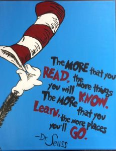 Adult Art Adventures: Dr. Seuss @ Henry County Public Library | Eminence | Kentucky | United States