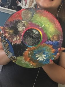 Teen Tuesday: Vinyl Album Painting