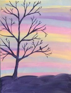 Family Adventures in Art: Sunset
