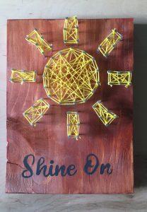 Adventures in Art: Sunny Day String Art