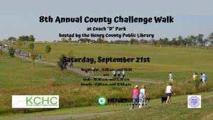 "8th Annual County Challenge Walk at Coach ""D"" Park @ Coach ""D"" Park"