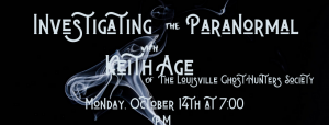 Investigating the Paranormal with Keith Age @ Henry County Public Library