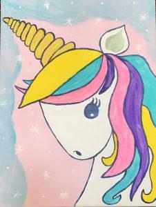 Family Adventures in Art: Magical Unicorn