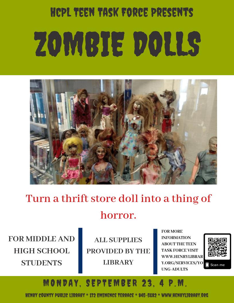 Teen Task Force: Zombie Dolls