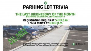 Parking Lot Trivia @ Henry County Public Library