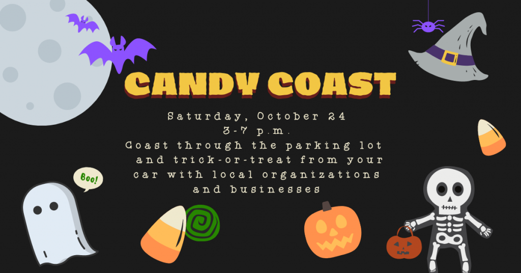 Candy Coast: A Drive-Thru Trick or Treating Event