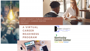 Kentucky Career Center Virtual Sessions @ Henry County Public Library