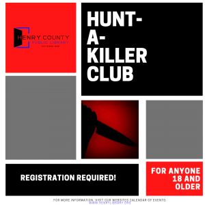 Hunt-A-Killer Club @ Henry County Public Library