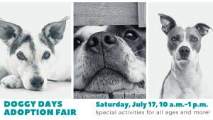 Doggie Days Adoption Fair
