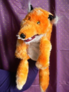 Tricky Fox: A Tabletop Puppet Show Presented by Squallis Puppeteers