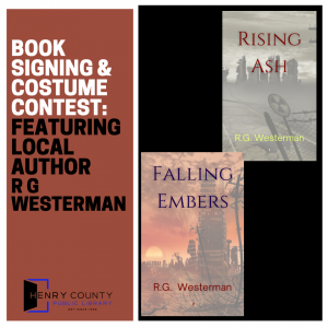 Book Signing & Costume Contest: Featuring Local Author R G Westerman @ Henry County Public Library